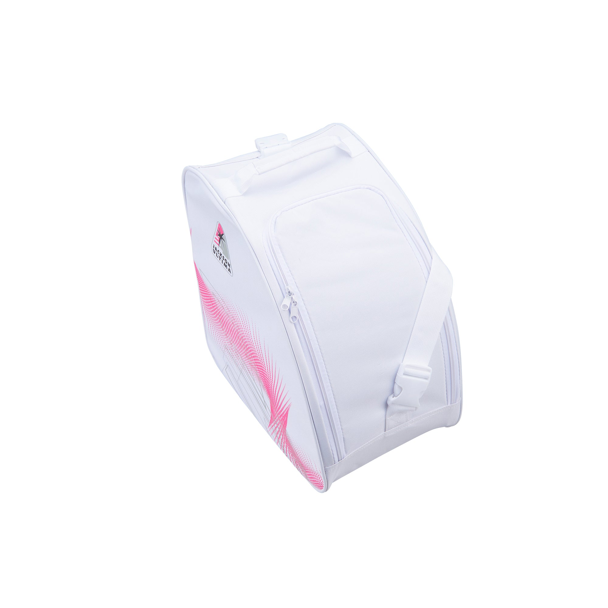 Jackson Oversized Bag<br>(White/Pink)