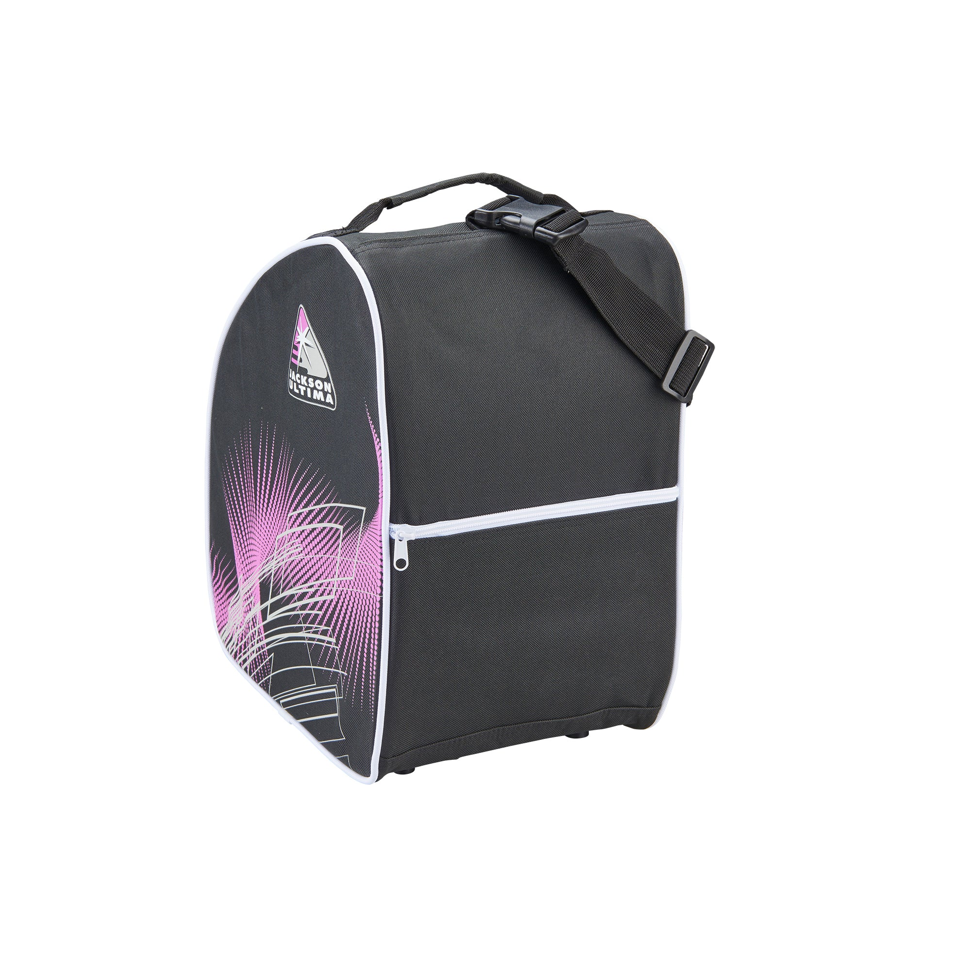 Jackson Oversized Bag<br>(Black/Purple)