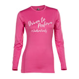 Womens Velocity Long Sleeve (Printed)