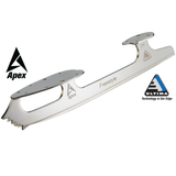 Apex Freestyle Blade chrome coated steel tapered edge
