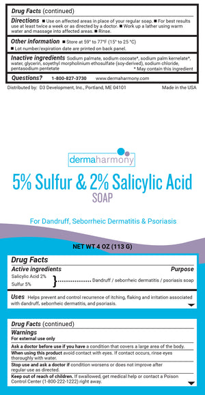 5% Suflur & 2% Salicylic Acid Body and Facial Soap