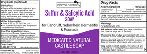 Sulfur & Salicylic Acid Liquid Castile Soap