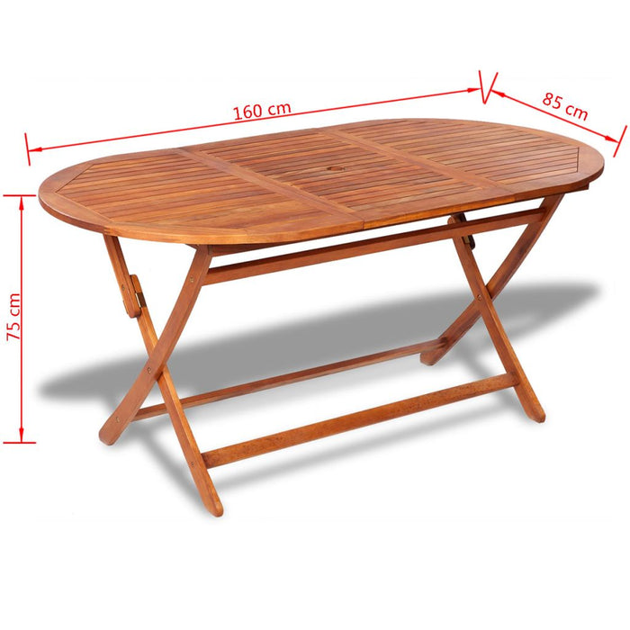 Garden table dimensions