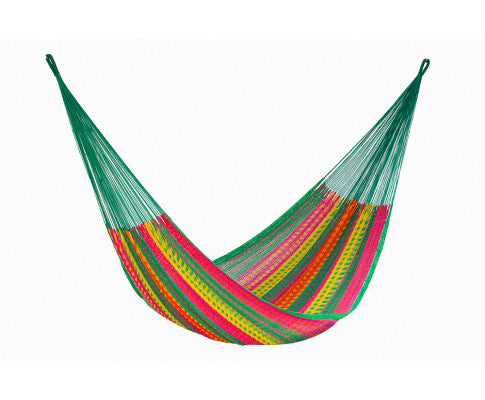 Queen Size Outdoor Cotton Hammock in Radiante