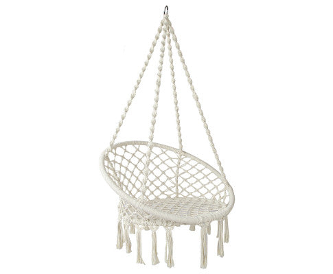 Hammock Swing Chair - Cream, Garden Hammock, Swing Chair