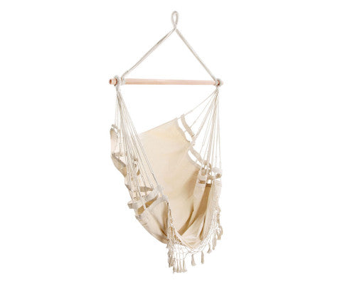 Outdoor Hammock Swing Chair - Cream, Outdoor Hammock