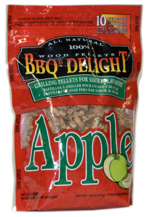 BBQ Smoking Pellets Apple Wood Flavoured, Grill Pellets Apple Wood Flavour