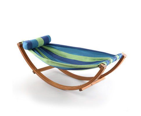Timber Hammock Bed Swing - Blue, Kids Hammock