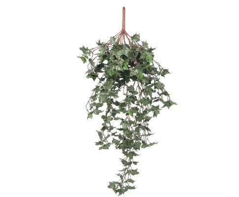 Hanging English Ivy Bush 80cm UV Resistant, Artificial Ivy Bush