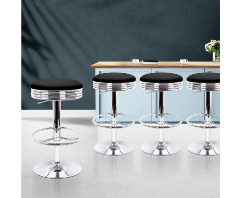 4 Barstool Displayed in Kitchen