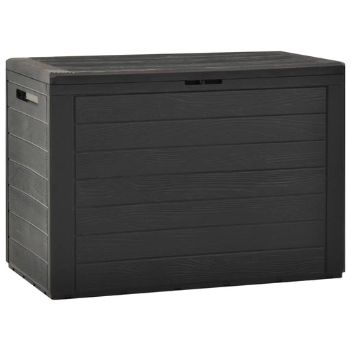 Garden Storage Box Anthracite 78x44x55 cm