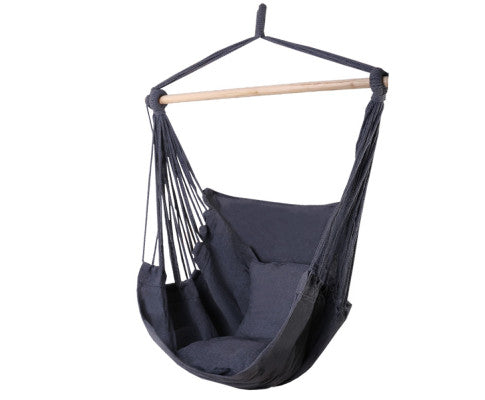 Hammock Swing Chair - Grey, Garden Hammock