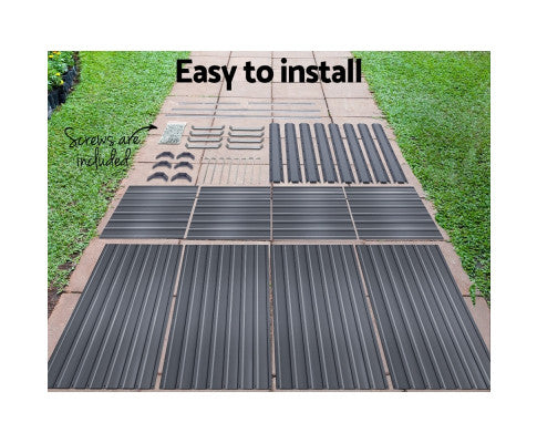 Easy to Install Garden Bed Galvanised Steel Raised  Planter 2 in 1