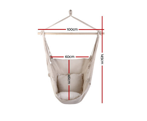 Dimensions of the Hammock Swing Chair