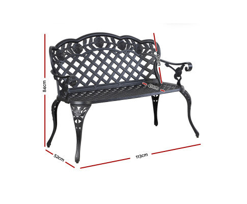 Dimensions of the Cast Aluminium Outdoor Furniture