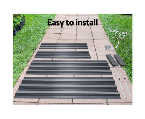 Easy to Install Galvanised Steel Raised Garden Bed