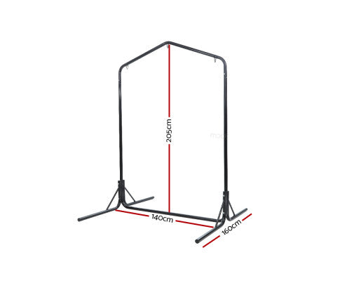 Double Hammock Chair Stand Steel Frame Dimensions