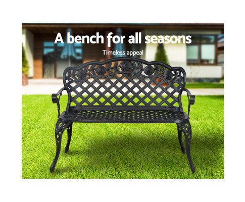 Cast Aluminium Outdoor Bench For Different Types of Seasons