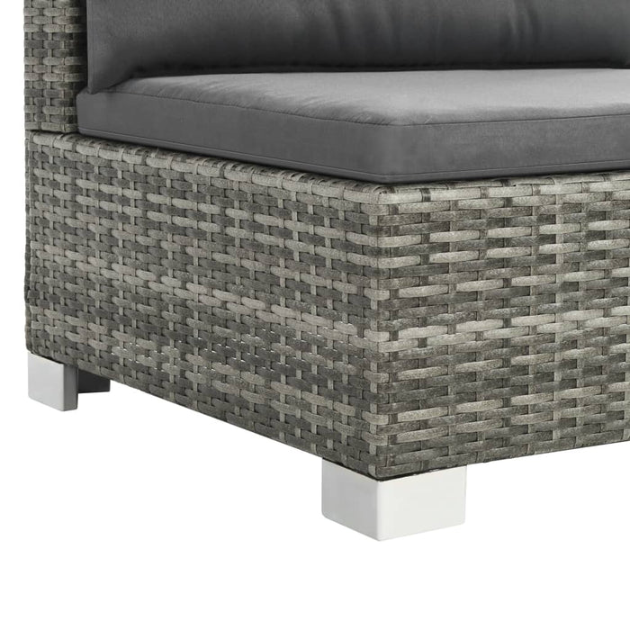 Outdoor garden furniture poly rattan material