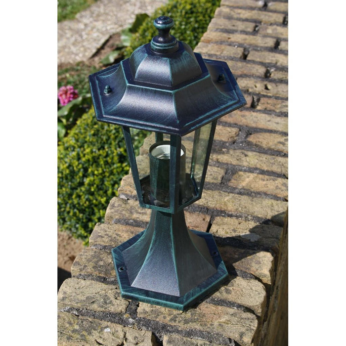 Garden Light Dark Green/Black Aluminium