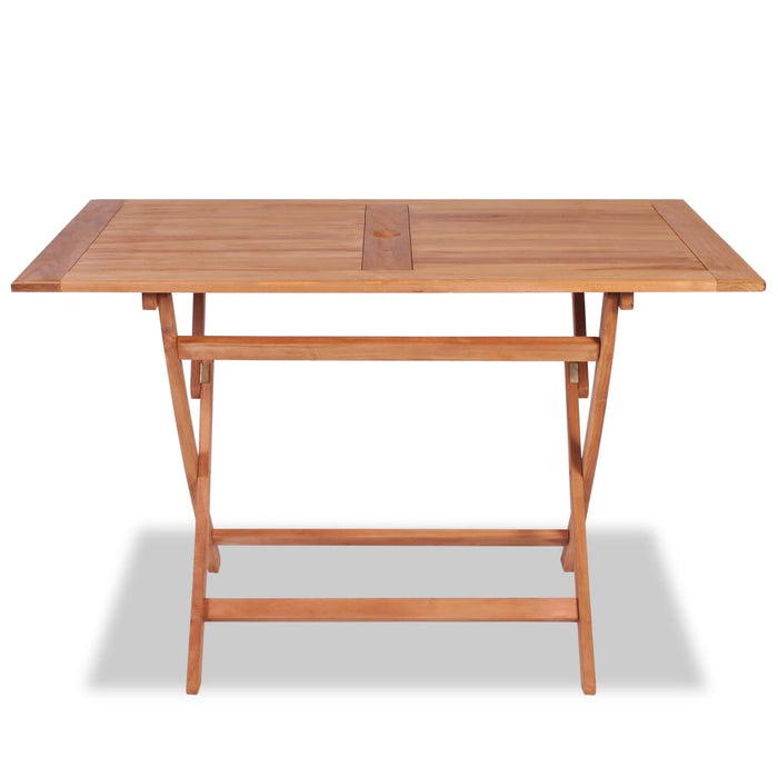 Solid teak wood garden table