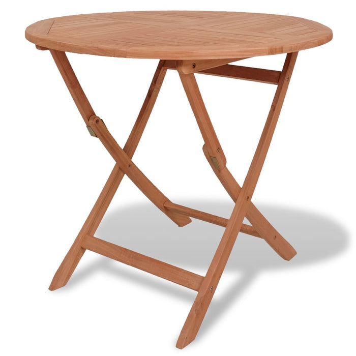 Folding table teak wood