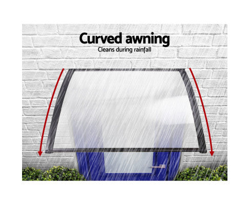 Window Door Awning Cover Transparent DIY