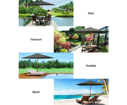 Outdoor Umbrella for Different Set Up