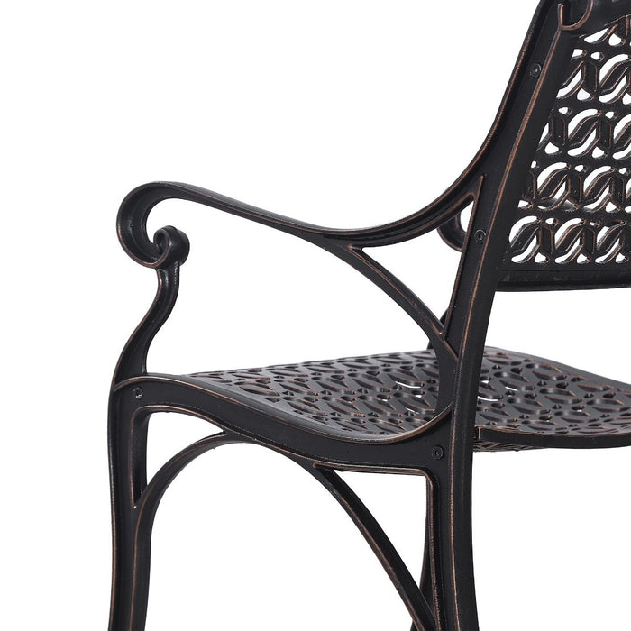 Cherise Garden Cast Aluminum Chair