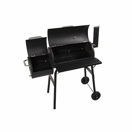 BBQ Smoker Grill with lids open