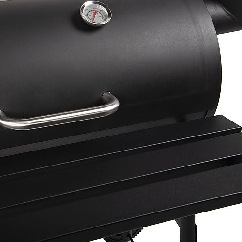 BBQ Smoker Grill handle and shelf