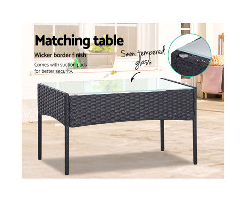 Additional Specifications of the Dark Grey Table