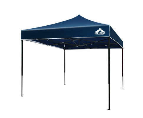 Gazebo 3x3m Pop Up Marquee Replacement Roof Outdoor Wedding Tent Navy
