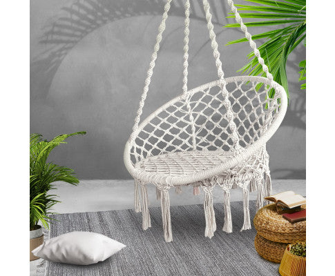 Hammock Swing Chair - Cream