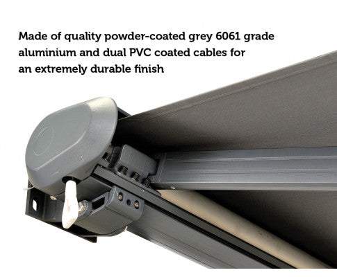 Powder Coated Cable with Durable Finish