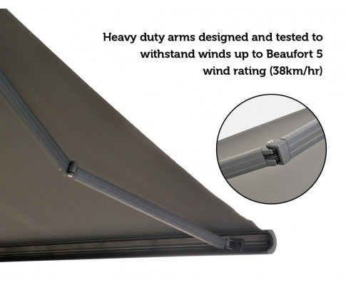 Heavy Duty Arm to With Stand  Strong Wind