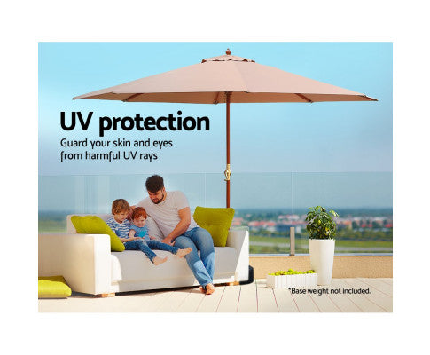 Umbrella with UV Protection