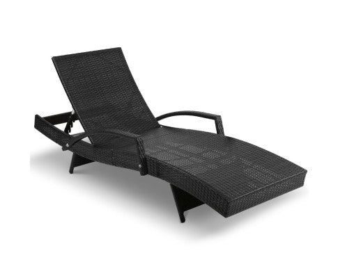 Rattan Day Bed Outdoor Furniture Sun Lounge