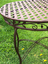 Filigree 70cm Round Table, Garden Furniture Set, Best Selling Table