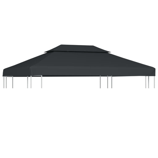 2Tier Gazebo Top Cover 310 g/m² 4x3 m Blue