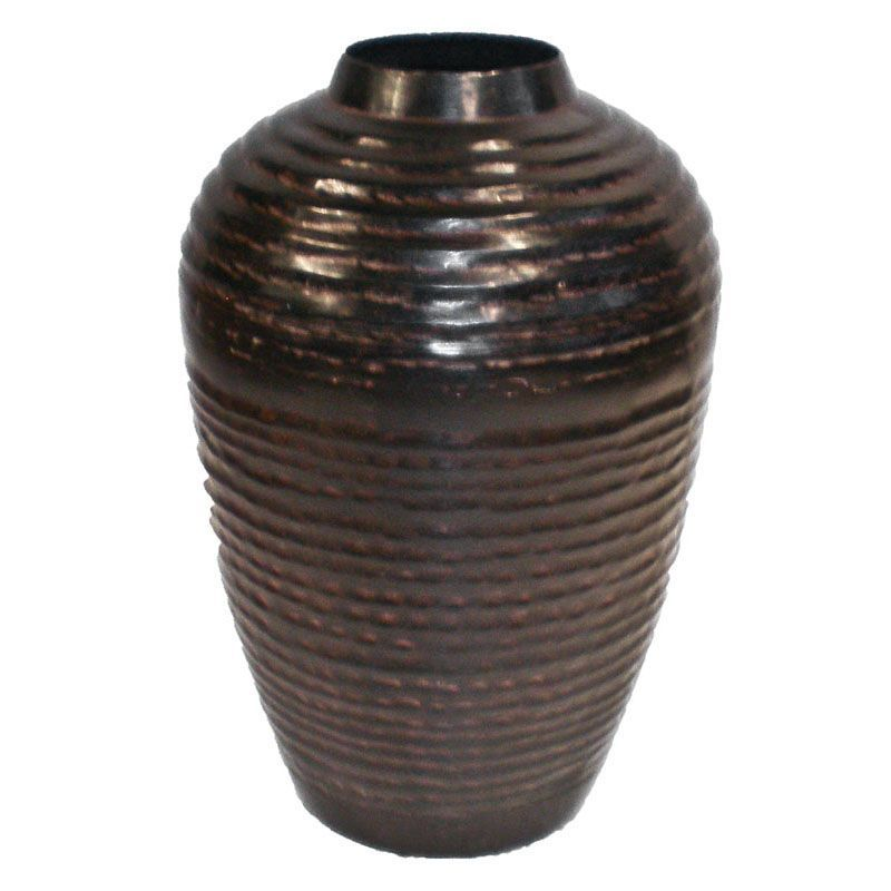 Moroccan Small Twin Pattern Vase  28cms - Set of 4 19x19x28cm