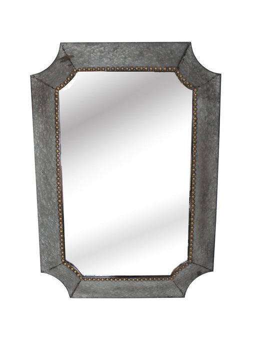 Viking Rectangular Metal Mirror