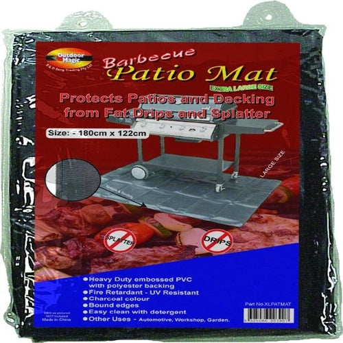 BBQ Cover Patio Mat