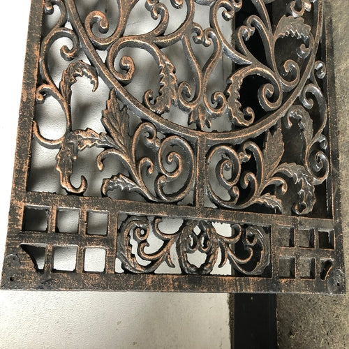 Cast Iron Door Mat Wall Plaque 74 x 46 cm Set of 2