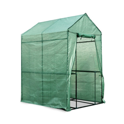 Greenfingers Greenhouse Garden Shed Green House 1.9X1.2M Storage Plant Lawn, Greenhouse