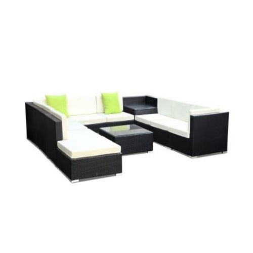 11 Pc sofa set w/ storage