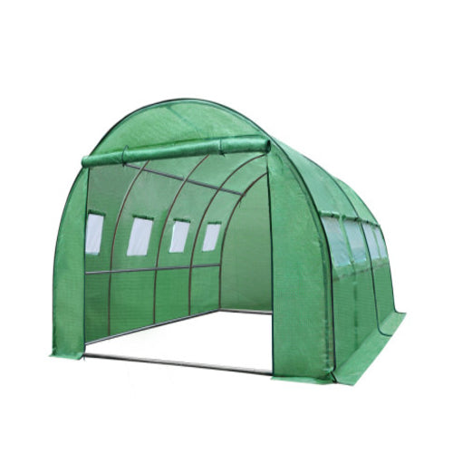 Greenfingers Greenhouse 4X3X2M Garden Shed Green House Polycarbonate Storage, Greenhouse