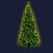 Jingle Jollys Christmas Tree 1.8M 6FT LED Xmas Fibre Optic Multi Warm White