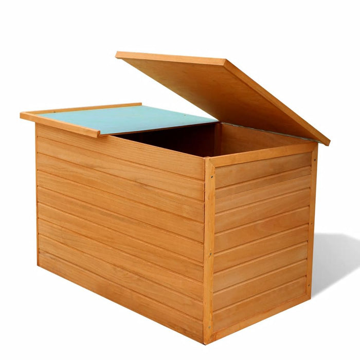Wood storage box firwood