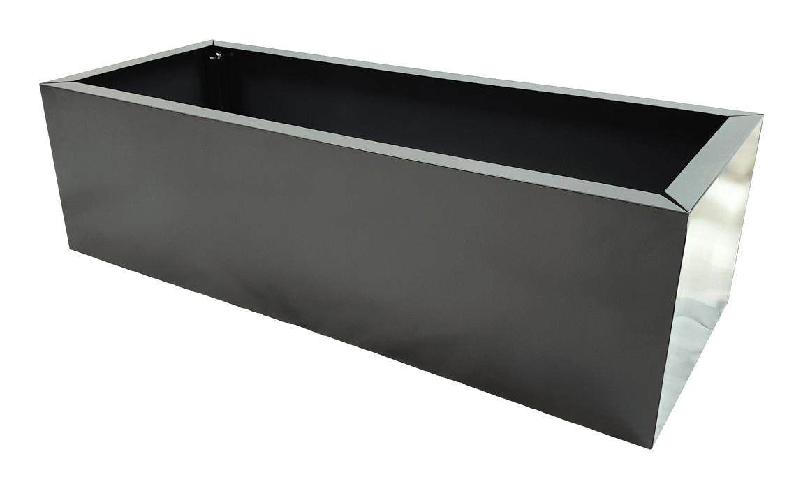 Grey Metal Planter Small